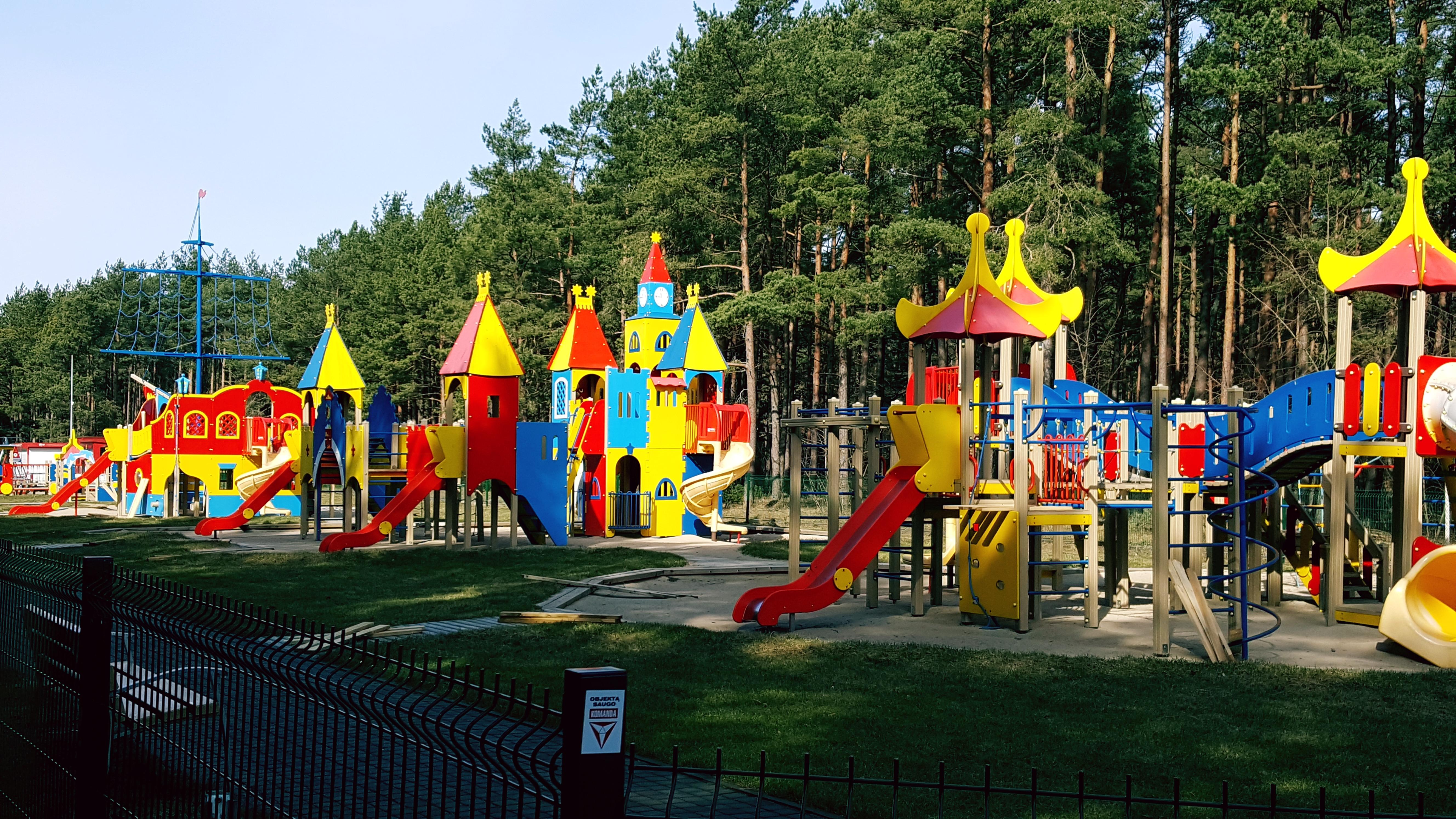 Vaikų žaidimo aikštelė netoli mūsų / children's playground near us /  детская игровая площадка рядом с нами