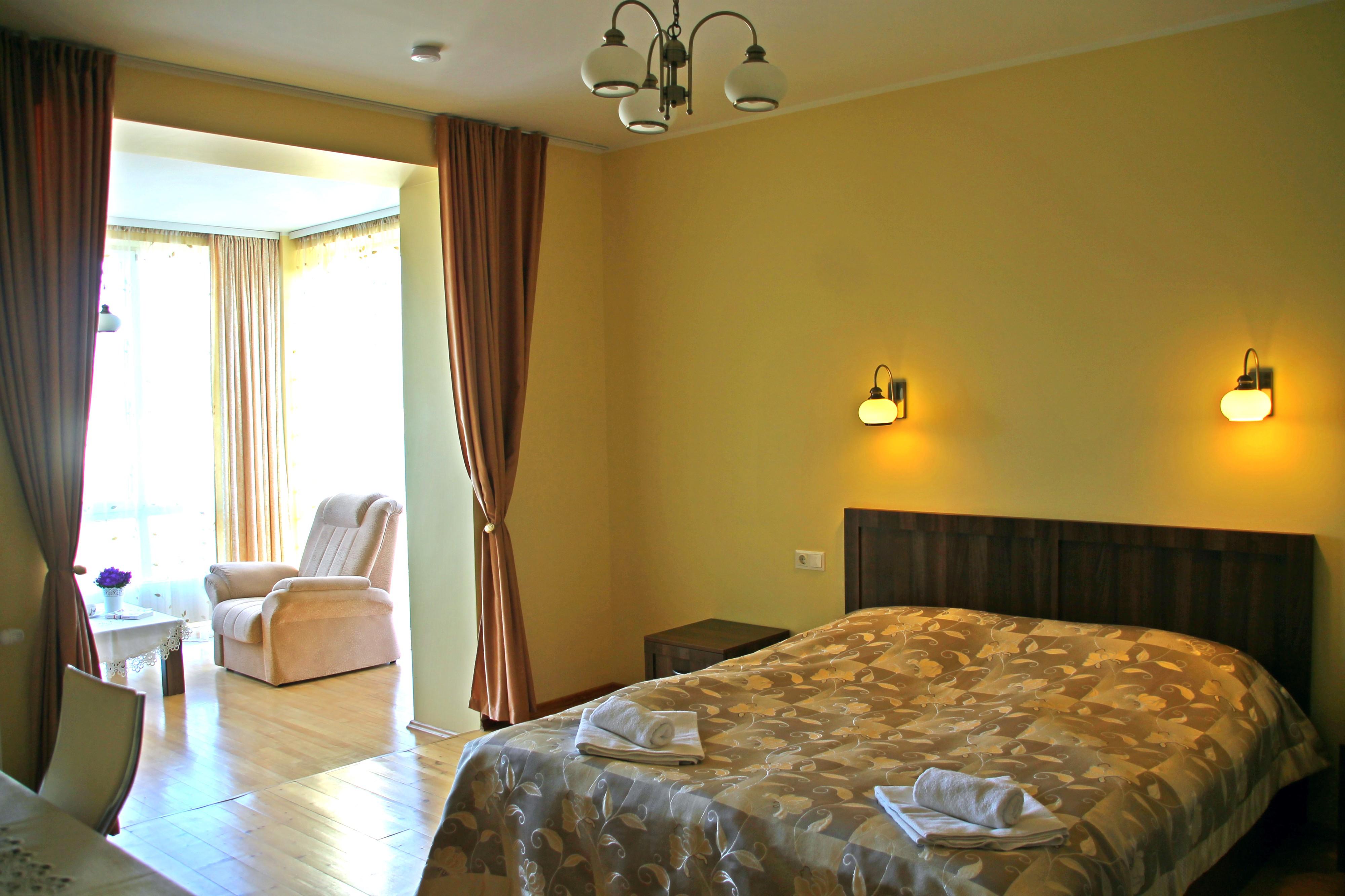 Patogus keturvietis / Comfortable quadruple room /Удобный четырехместный номер