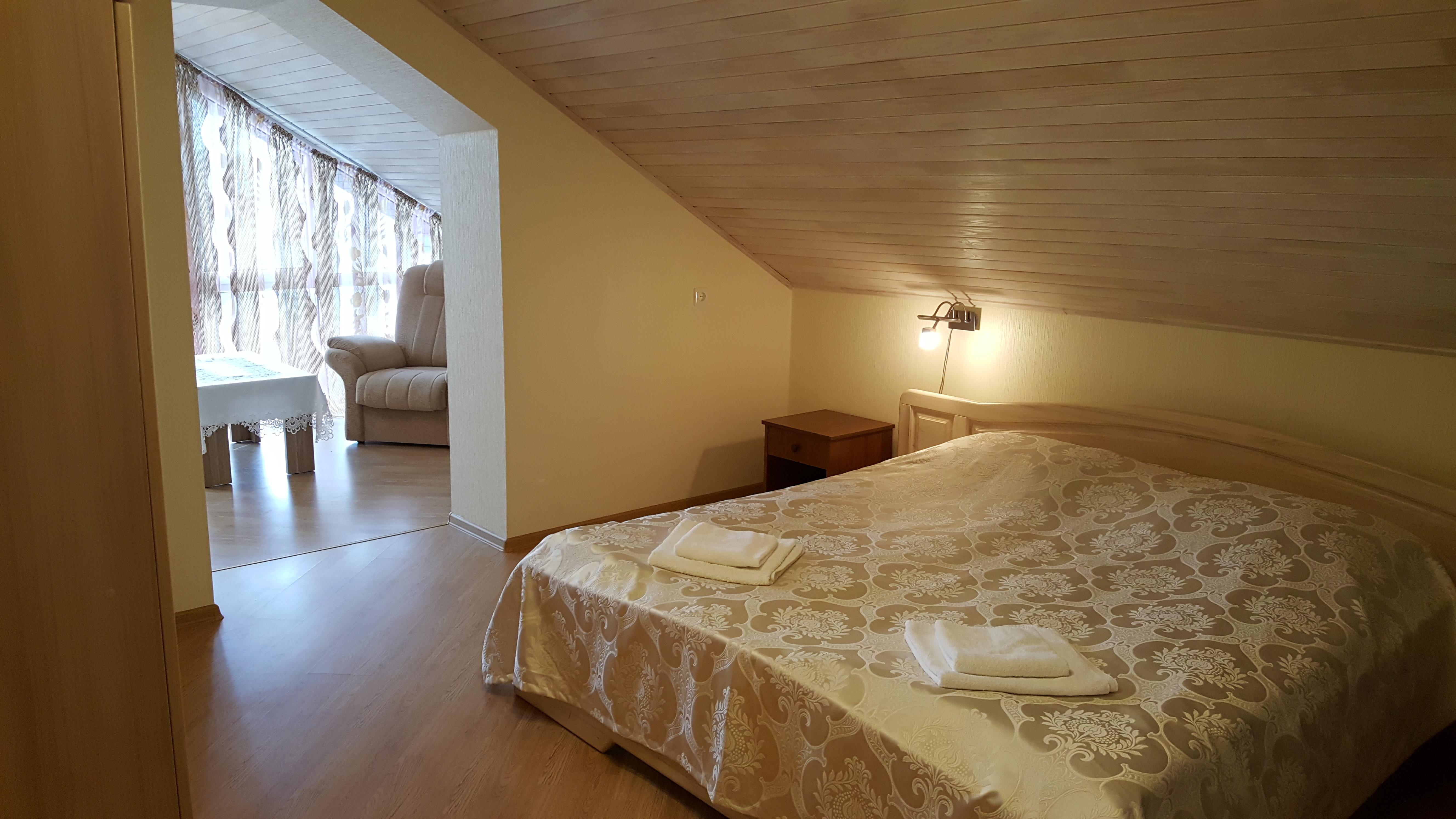 Patogus keturvietis / Comfortable quadruple room / Удобный четырехместный номер